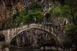 Portitsa old stone bridge