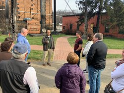 Freddie gets us started off to a good day at Buffalo Trace