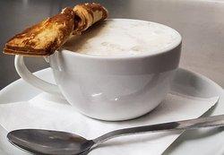 Tasting menu, mushroom soup