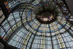 ARt Deco Glass Roof