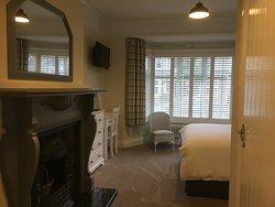 Ground floor room  king size bed en suite