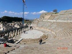 完整的羅馬古城遺址