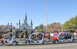 New Orleans Electric Cars and Scooter Rentals