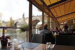 charles bridge ponton restaurant