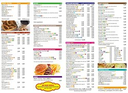 OUR NEW FOOD MENU