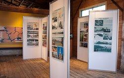 Exposition temporaire des villes et villages du Témiscamingue d'hier à aujourd'hui.