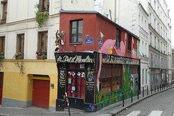 Typical Montmartre Restaurant