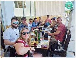 Fogo Cozumel A restaurant in Cozumel with the best ocean view from the main avenue in town. We are well known among the locals and US citizens for our delicious Breakfast, Lunch & Dinner. Join us! @FogoCozumel es un restaurante con la mejor vista al OCEANO desde el segundo piso en la avenida principal del centro de Cozumel. Somos bien conocidos entre la gente local y residentes Americanos por nuestro delicioso desayuno, almuerzos & Cenas. Acompañenos! #Restaurant #Cozumel #Restaurante #Breakfast