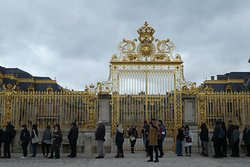 Wonderful Golden Gates to the Palace