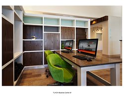 24-Hour Business Center with free high-speed internet, printer, scanner, and copier.
