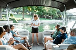 Experience the peaceful waters of the Brazos River on our River Cruise!