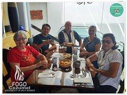 Fogo Cozumel A restaurant in Cozumel with the best ocean view from the main avenue in town. We are well known among the locals and US citizens for our delicious Breakfast, Lunch & Dinner. Join us! Fogo Cozumel es un restaurante con la mejor vista al OCEANO desde el segundo piso en la avenida principal del centro de Cozumel. Somos bien conocidos entre la gente local y residentes Americanos por nuestro delicioso desayuno, almuerzos & Cenas. Acompañenos! #Restaurant #Cozumel #Restaurante #Breakfast