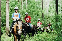 CranHill is home to over 35 horses! Take a trail ride through the woods!