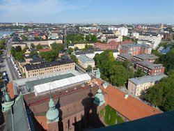 Stockholm City Hall Tower View