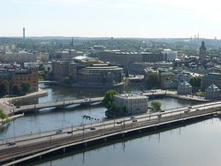 Stockholm City Hall View from Tower