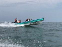 Boats leaving