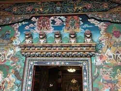Guru Lhakhang Monastery doorway