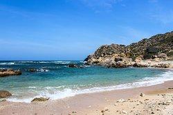 On of Binh ba island seashore, sand, wave....