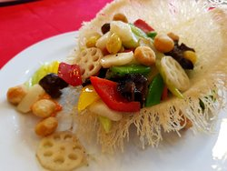 Signature - Stir Fried Assorted Vegetables with Macadamia Nut