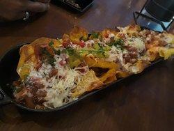 Chicken nachos at Hitchki