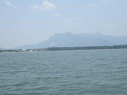 The majestic Gunung Jerai in the background.