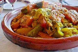 野菜とビーフのタジン
