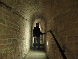 escalier remontée arcades