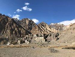 Markha village where we stayed on the trek.