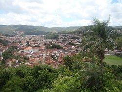 Vista da cidade de Mariana a partir da torre da igreja de São Pedro dos Clérigos