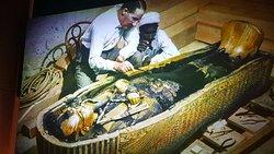 Exposition  Toutânkhamon. Le trésor du pharaon