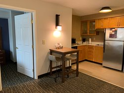 Nicely remodeled room