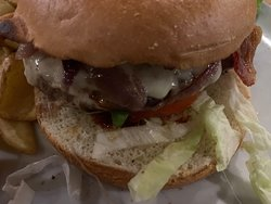 Cow burger
