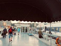 Prima boottochtje van Hua Hin naar Pattaya