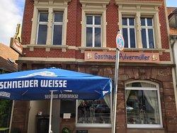 Gasthaus Pulvermüller in Saarbrücken St.Arnual mit Biergarten