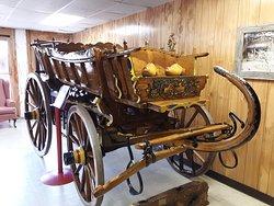 """A wooden """"Dutch"""" wagon"""