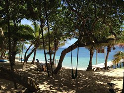 A peaceful day on the beach at the Camp Bay Lodge.