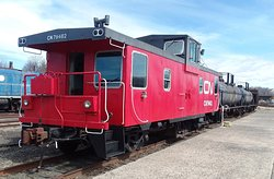 Caboose, Restored on Outside