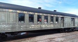 Pennsylvania RR Mail Car Needing Restoration