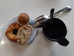 Sumptuous food at breakfast