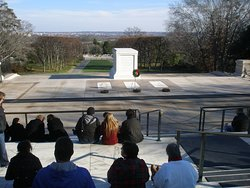 Tomb of the Unknown Soldier Arlington National Cemetery Arlington, Virginia