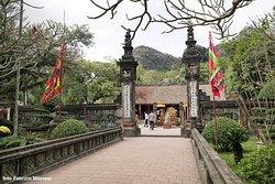 Il cortile del primo tempio