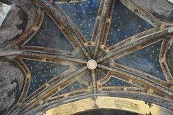 Interno affrescato della Cappella Marchionale