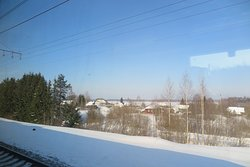 จะมองเห็นหมู่บ้านตามชนบทเป็นระยะ ตลอดเส้นทางครับ