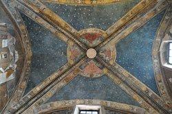 Interno affresco volta della Cappella Marchionale