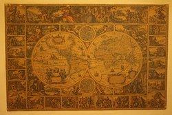 Wandkarte aus Sherlock Holmes Escape Room