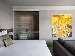 Studio Suite with Terrace at Gran Hotel Domine in Bilbao. 5-star Luxury.
