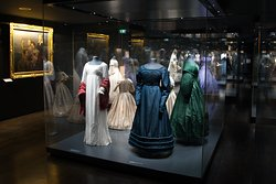 Gallery with dresses