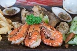 Jimbaran seafood is some of the best! Be sure to try our delicious prawns fresh.