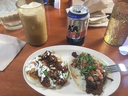 Delicious taco lunch with Richard at Big Star in Wicker Park.
