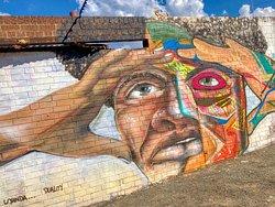 Incredible street art in Johannesburg